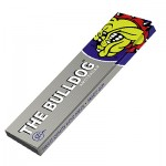 Papiers à Rouler cannabis The Bulldog Amsterdam - Silver King Size Slim Rolling Papers - Single Pack