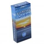 Papiers à Rouler cannabis Elements Super Slim Filter Tips - Single Pack