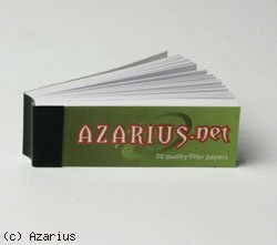 Papiers à Rouler cannabis Filter tips Azarius