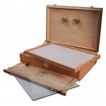 00 Box - Personal Humidor - Spanish Cedar Wood Box with Hygrometer - Large