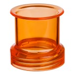 pipes cannabis Transformer Tubes - Standard Mouthpiece - Orange